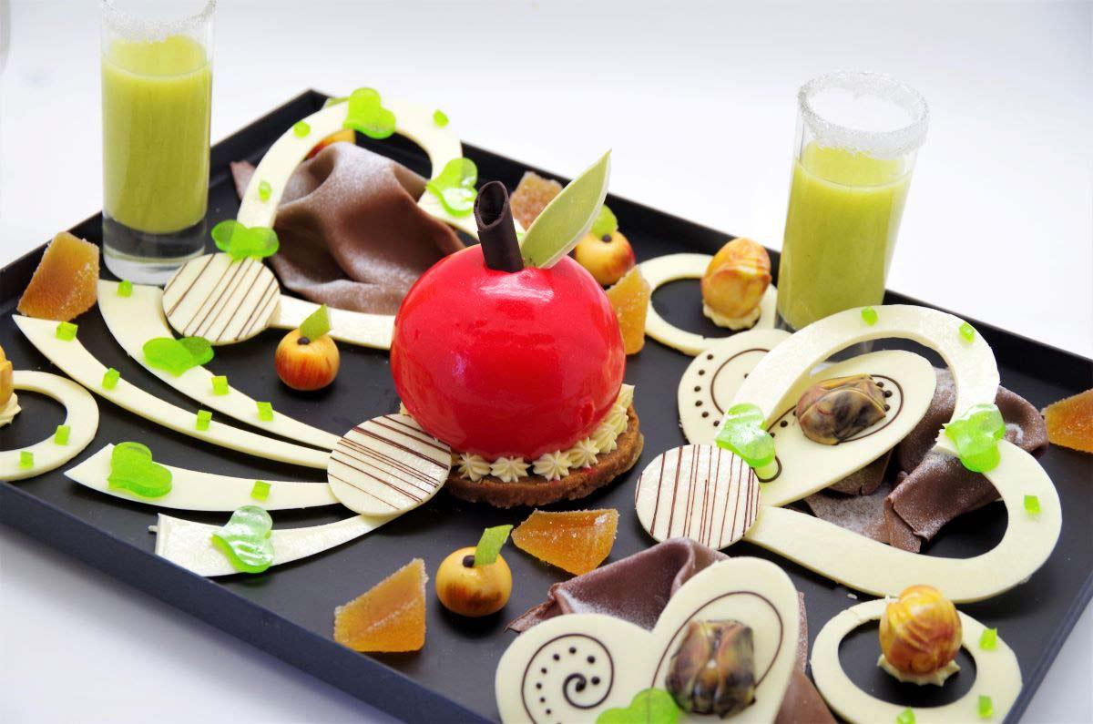 Ménard Traiteur Saint Valentin - Photo du menu spécial