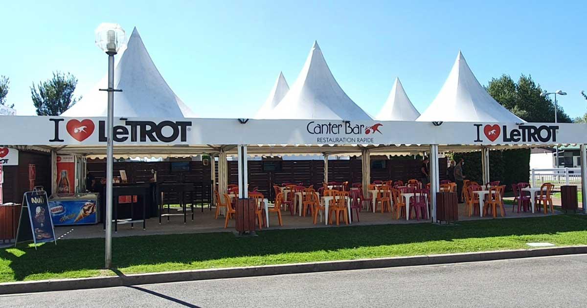 Ménard Traiteur Caen - Photo du restaurant de l'hippodrome de Cabourg Le Trot